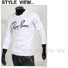<b>2015 New</b> Men's <b>Fashion Casual</b> Letter Print T-shirt Long Sleeve T ...