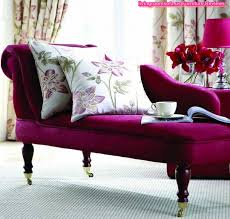 couch bedroom sofa: beautiful purple chaise lounge couch for bedroom idea