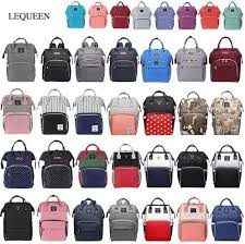 Online Shop <b>Lequeen Fashion Mummy Maternity</b> Nappy Bag Large ...