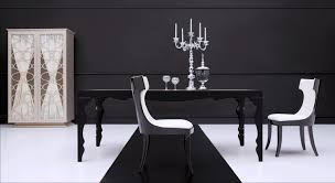 Contemporary Black Dining Room Sets Black Contemporary Dining Table Bpweverettorg