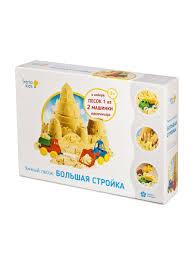 Набор для детского творчества Умный <b>песок</b>. Большая стройка ...