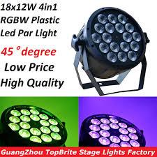 2016 <b>Led</b> Par Light 18x12W 4in1 RGBW Flat Plastic <b>LED</b> Par Can ...