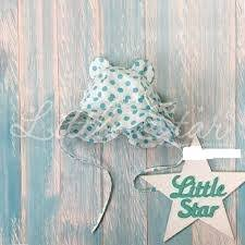 """Little star <b>Панама</b> для девочки """"<b>Мишка</b>"""" / 44 см / 6-9 месяцев ..."""