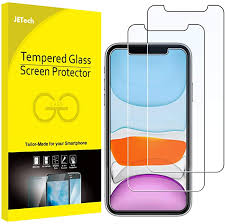 JETech Screen Protector for <b>iPhone</b> 11 and <b>iPhone</b> XR 6.1-Inch ...