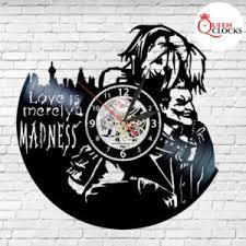 <b>Часы</b> настенные Queen <b>Clocks</b> Harley Quinn Love Joker Vinyl ...