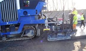 FRC   Research Activities   Construction Innovation   The     University of Sheffield Paving of roller compacted concrete by using an asphalt paver