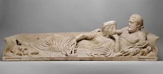 r sarcophagi essay heilbrunn timeline of art history the marble sarcophagus lid reclining couple