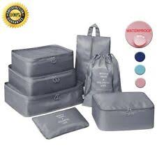 <b>Fabric</b> Travel Storage Bag Home Storage Bags for sale | eBay