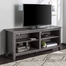 Daonanba Practical <b>Elegant</b> Antique <b>White Wooden TV</b> Stand ...