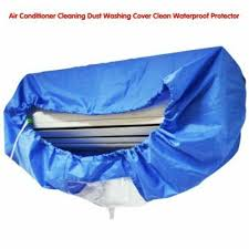 cleaning air conditioning cover of water a c dust jacket kf59