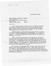 governor brendan t byrne documents first term and re election 10 1974 letter from senator raymond bateman to nj supreme court chief justice richard hughes re options in pending robinson v