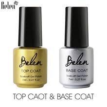 Belen УФ-светодиодный Гель-лак для ногтей, <b>верхнее покрытие</b> ...