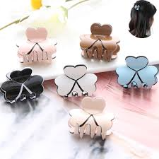 1PC New Fashion <b>Women Hair Claw</b> Elegant Mini Hairpins <b>Simple</b> ...