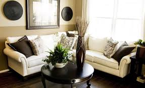 Inside Living Room Design Blue Wall With Design Sofa Throw And White Floor Lamp Can Add The