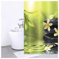 Купить <b>Штора для ванной IDDIS</b> 680P18Ri11 180x200 зеленый ...