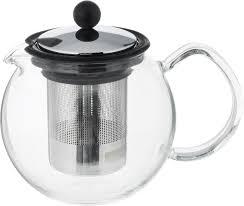 <b>Чайник заварочный Assam, с</b> фильтром, цвет: прозрачный ...