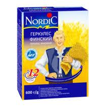 <b>Хлопья Nordic</b> Геркулес Финский овсяные быстрого ...