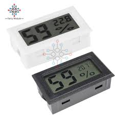 digital lcd indoor convenient temperature sensor humidity meter thermometer hygrometer gauge lora wireless humidity logger