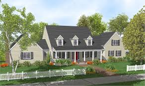 Cape Cod Home Plan   full front porch   House ideas   Pinterest    Cape Cod Home Plan   full front porch   House ideas   Pinterest   Cape Cod  Front Porches and Cape Cod Homes