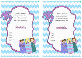 sleepover birthday invitations net sleepover birthday invitations birthday printable birthday invitations