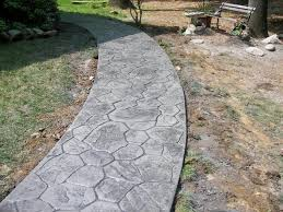 patio stamped concrete driveway closeup job random stone stamped concrete walkway nass job  random stone stamped c