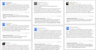 social return respond to reviews intimidated