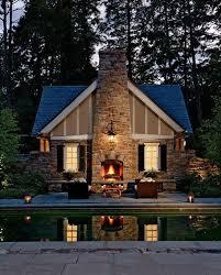 modern mountain house design    small mountain house   pool
