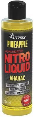 "<b>Ароматизатор</b> жидкий <b>Allvega</b> ""<b>Nitro Liquid</b>. Pineapple"", 250 мл ..."