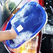 Car Wash Clean Sponge Brush Glass Cleaner Blue Wave ... - Vova