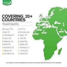 <b>Leadcool IPTV France</b> Subscription 1 Year QHDTV Code RK3229 ...