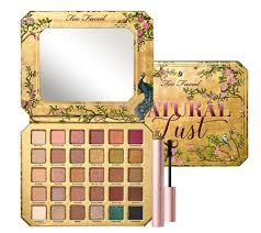 <b>Too Faced Natural Lust</b> Eyeshadow Palette with Travel Mascara ...