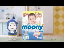 Японские трусики-<b>подгузники Moony</b>-<b>man</b> - YouTube