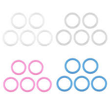 <b>20Pcs</b>/<b>Set</b> O-Rings <b>Soft</b> Silicone <b>Baby</b> Dummy Pacifier Chain Clips ...