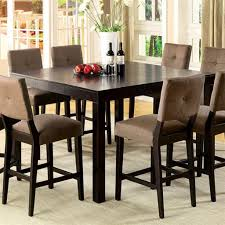 Tall Dining Room Sets Table Sets Pinterest Height Dining Elegant Counter Counter Height