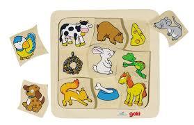 <b>Пазл</b> двухслойный Кто что ест? <b>Goki</b>, купить в магазине детских ...