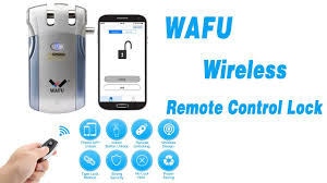 How to Install WAFU <b>Wireless Remote</b> Control Lock - YouTube