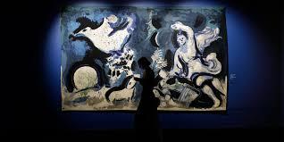 9 знаковых работ с выставки Марка Шагала в Истре – The City ...