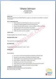 update sample resume for pastry chef documents pastry chef resumes samples