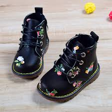 Hot sale <b>2018 New Spring</b>/<b>Autumn Children</b> Rubber Boots Leather ...