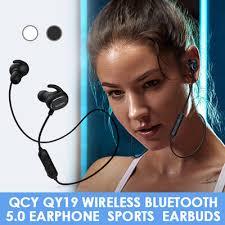 Qoo10 - <b>QCY QY19 sports Bluetooth</b> headset binaural wireless ...