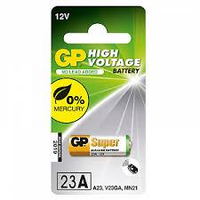 <b>Батарейка A23</b> (3LR50, LRV08, 8LR932, MN21) <b>GP</b> 1 шт.