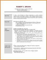 example resume objectives resume reference example resume objectives example of software engineering resume objective education in bachelor of computer science or competition experience jpg