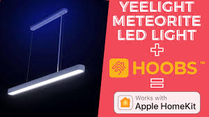 <b>Yeelight Meteorite LED YLDL01YL</b> Full Control in Apple HomeKit ...