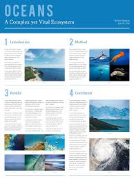 poster templates examples lucidpress ecosystem scientific poster template