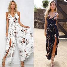 Floral <b>Bohemian Jumpsuit in</b> 2019 | <b>Boho summer</b> outfits, <b>Overalls</b> ...