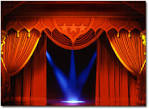 Images & Illustrations of curtain raising