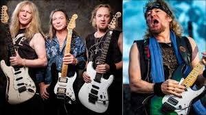 Adrian Smith Says He Didn't Want to Return to <b>Iron Maiden</b> at First ...
