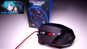 <b>Zelotes T90</b> Gaming mouse - <b>9200 DPI</b> High Precision Wired USB ...