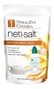 <b>Neti Salt</b> Bag (24oz Refill) – Himalayan Institute