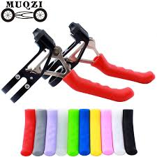 MUQZI Free shipping <b>2pcs Silicone</b> Gel Universal Type <b>Brake</b> ...